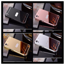 For HTC Desire 626 626 G 628 650 A32 626G 5.0 inch phone Case Fashion Luxury Protective Gold Aluminum Mirror Back Cover Case mooncase hard rubberized rubber coating devise back чехол для htc desire 626 black