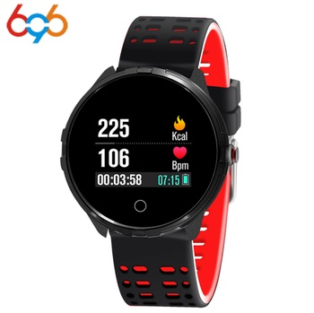 696  X7 Smart Bracelet Heart Rate Monitor Pedometer Sleep Tracker IP68 Waterproof Fitness Tracker Smart Band for Android IOS
