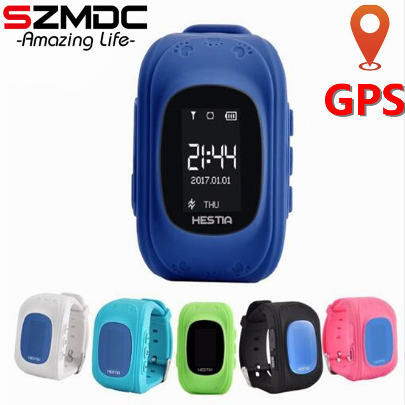 Szmdc HOT Q50 Smart watch Children Kid Wristwatch GSM GPRS GPS Locator Tracker Anti-Lost Smartwatch Child Guard for iOS Android