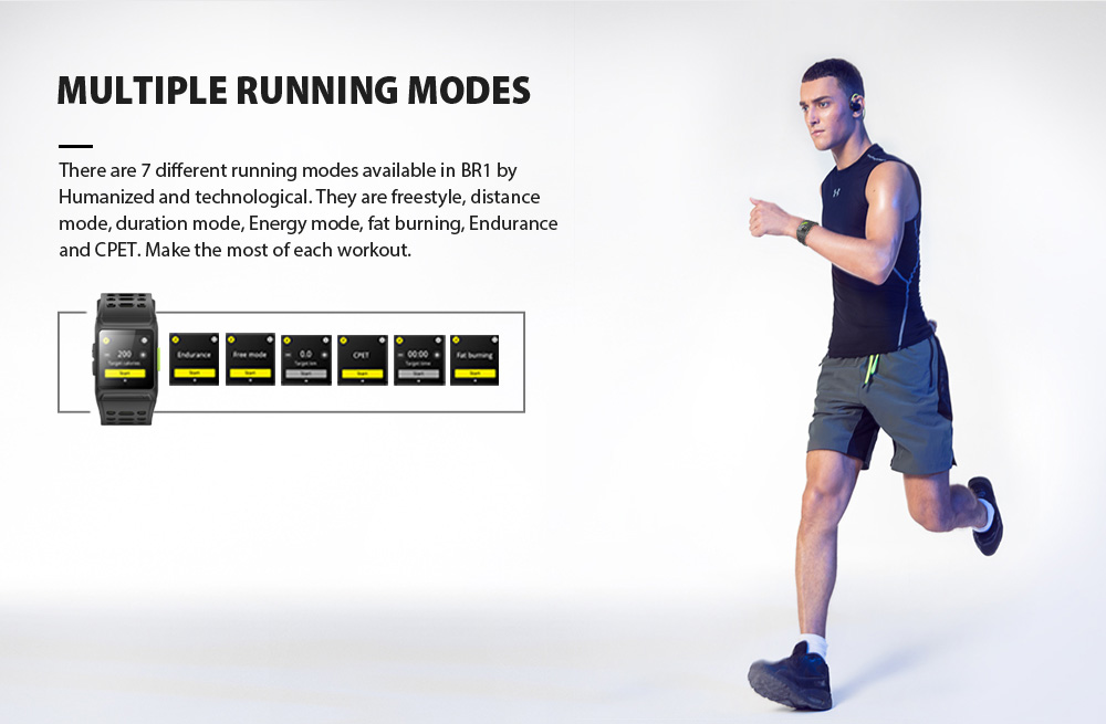 GPS sport montre intelligente hommes