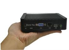 2016 promotion htpc itx Qotom-Q100N 2G ddr3 ram and 32gb ssd linux pc mini htpc small desktop computers