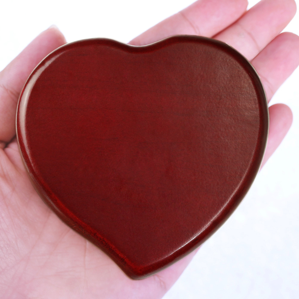 Sinzyo Handmade Wooden The moon represents my heart Music Box Birthday Gift For Christmas Valentine's day gift Heart Souvenir