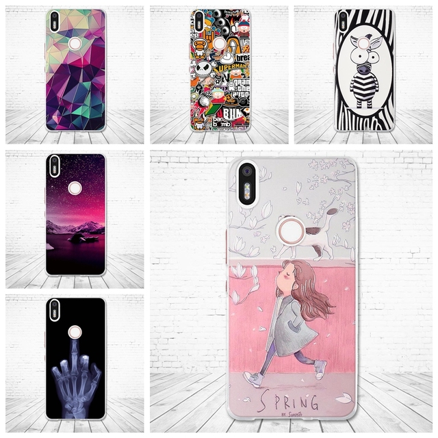 "For BQ Aquaris X5 Plus Case Soft Silicon Back Cover 5.0"" Cases For BQ Aquaris x5 plus 3D Paint Luxury Coque for BQ X5+ Patterned"