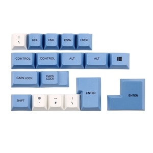 Image 3 - Blue sky and white cloud keycap 112/157 keys PBT Cherry Profile Dye Sublimated MX Switch For Mechanical keyboard keycap