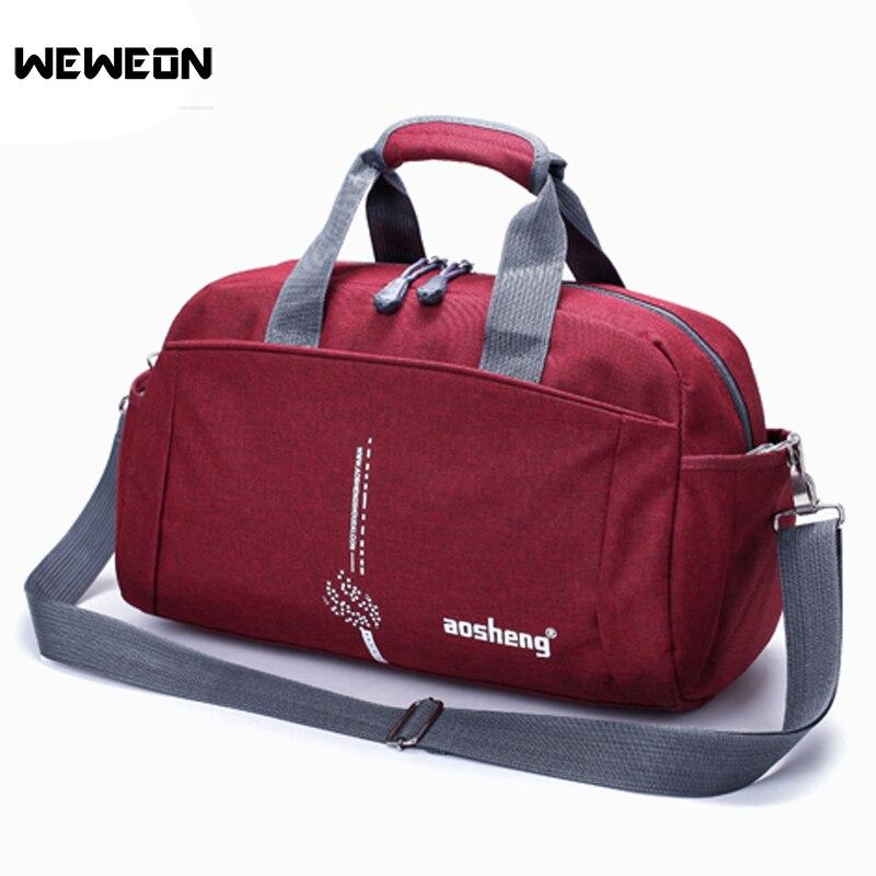 Outdoor Men Gym Bag Fitness Shoulder Hot Training Female Yoga Handbag Duffel Sports Shoulder Bag Travel Bag Sac De Sport