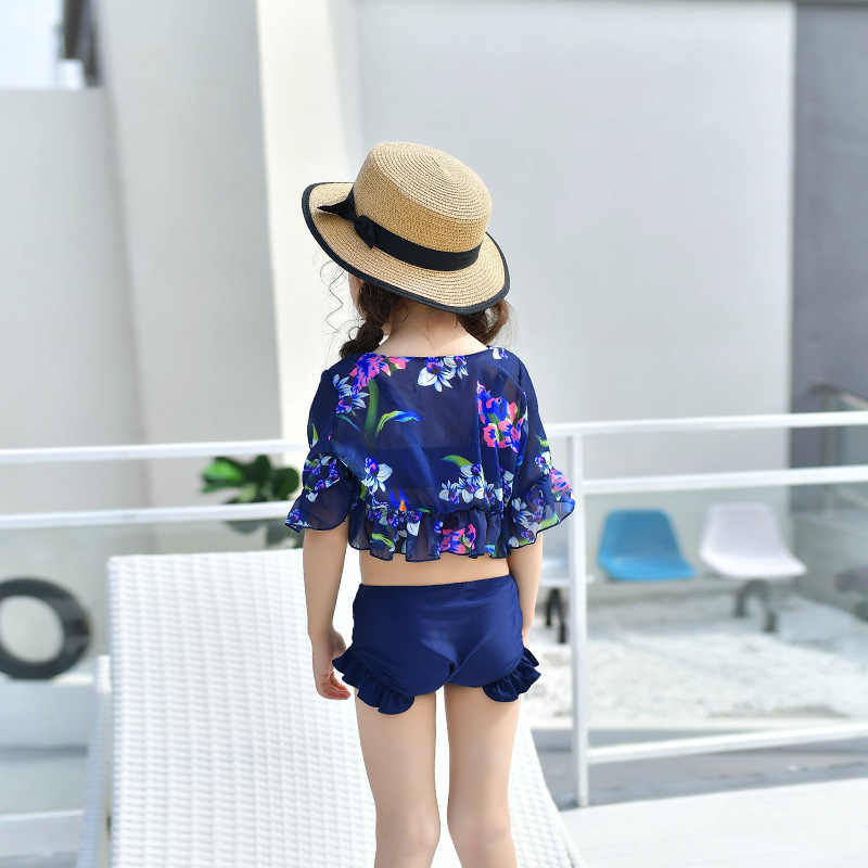 7e478daff1 ... Mom Mother and Daughter Swimsuits Dress Mother & Kids Matching Clothes  Summer Beach Bikini Set+ ...