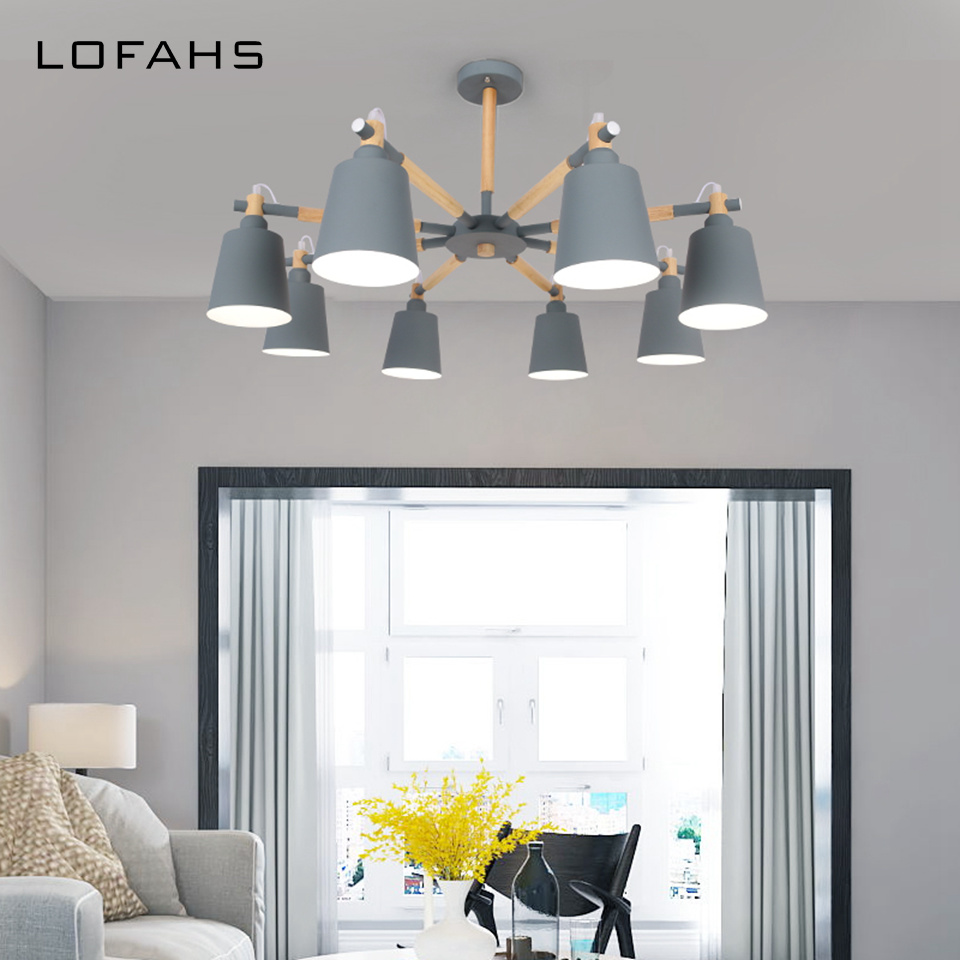6 colours Pendant Chandelier lighting Modern Home LED Chandelier lamp Wood arm For Living bedroom Dining Child room DLM8010 холодильник hansa fm050 4