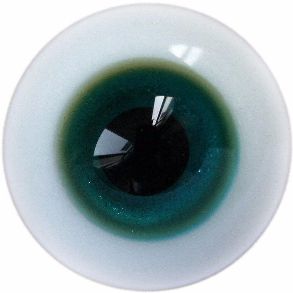 [wamami] 8mm Tan & Light Brown For BJD Doll Dollfie Glass Eyes