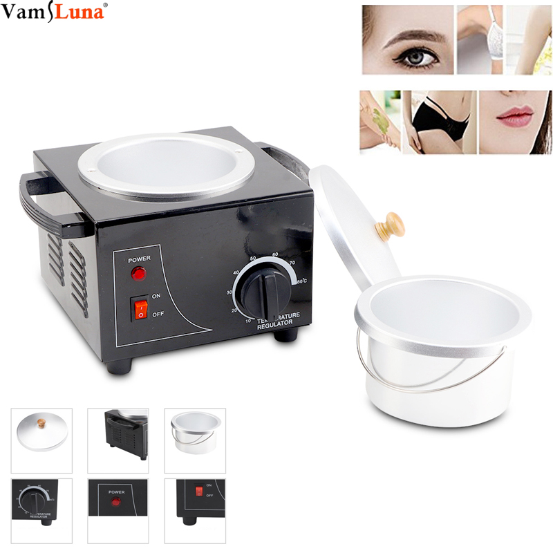 Portable Salon Electric Hot Wax Warmer Heater Deep Cleansing Facial Skin Hair Removal Spa Tool Durable And Safe To Use