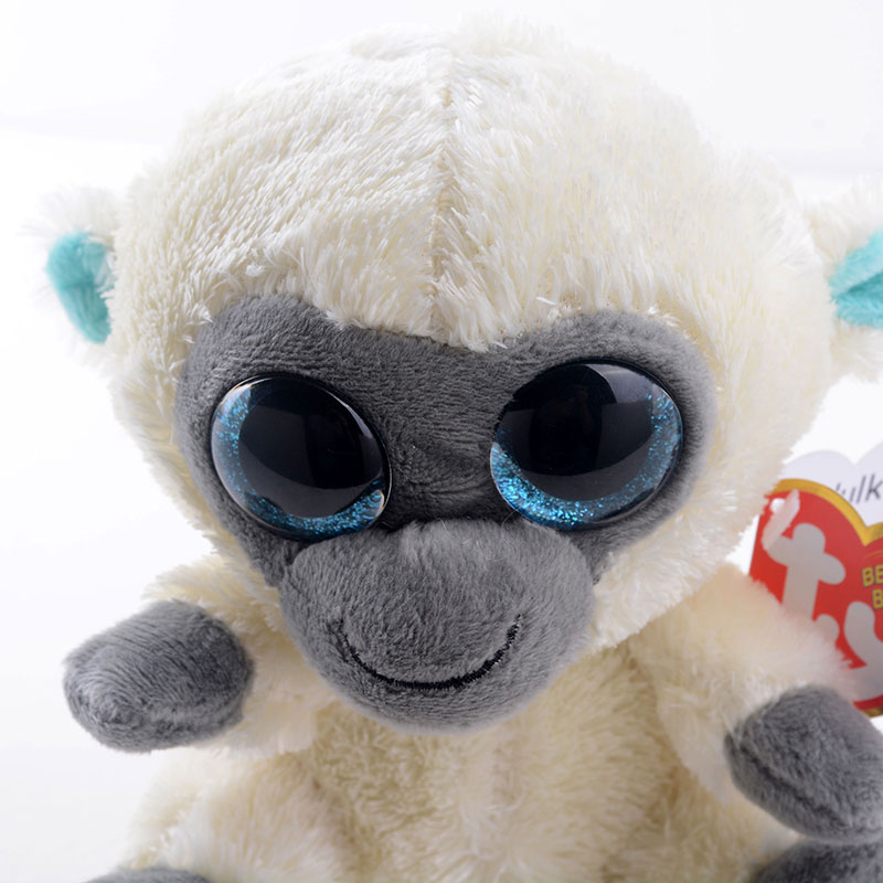 c75c03c779e Cute 5   Original TY Collection MAGIC White Monkey Plush Toys Kids ...