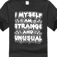 Beetlejuice Shirt I Myself Am Strange And Unusual Premium Graphic T Shirt S 5Xl halloween horror shirt michael myers premium graphic t shirt s 5xl