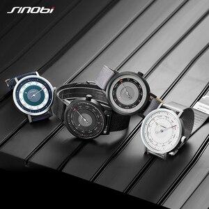 Image 3 - Sinobi moda criativa relógios masculinos bússola luminosa relógio esportivo masculino escalada caminhadas relógio de pulso de quartzo reloj hombre