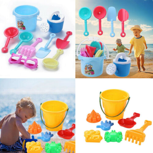 7pcs/9pcs Bath Water Playing Toy Portable Beach Sand Toys Set Animals Castle Sand Clay Mold Digging Shovel Tools Water Beach Toy