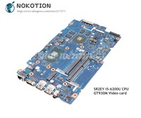 NOKOTION For Dell inspiron 15 5557 5457 Laptop Motherboard SR2EY I5 6200U CPU GT930M gpu BAV00 LA D051P CN 0X9C75 0X9C75