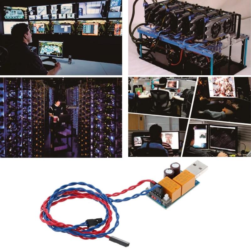 OPEN-SMART USB Watchdog Computer Automatic Restart Blue Screen Mining Game Server BTC Miner цена