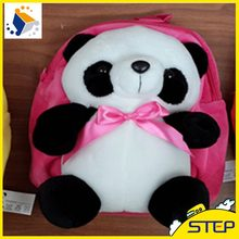 2016 New Arrival Free Shipping 1pcs 30 cm Super Cute Panda Doll Plush Backpack Schoolbag Gifts for Children and Kids ST434(China)