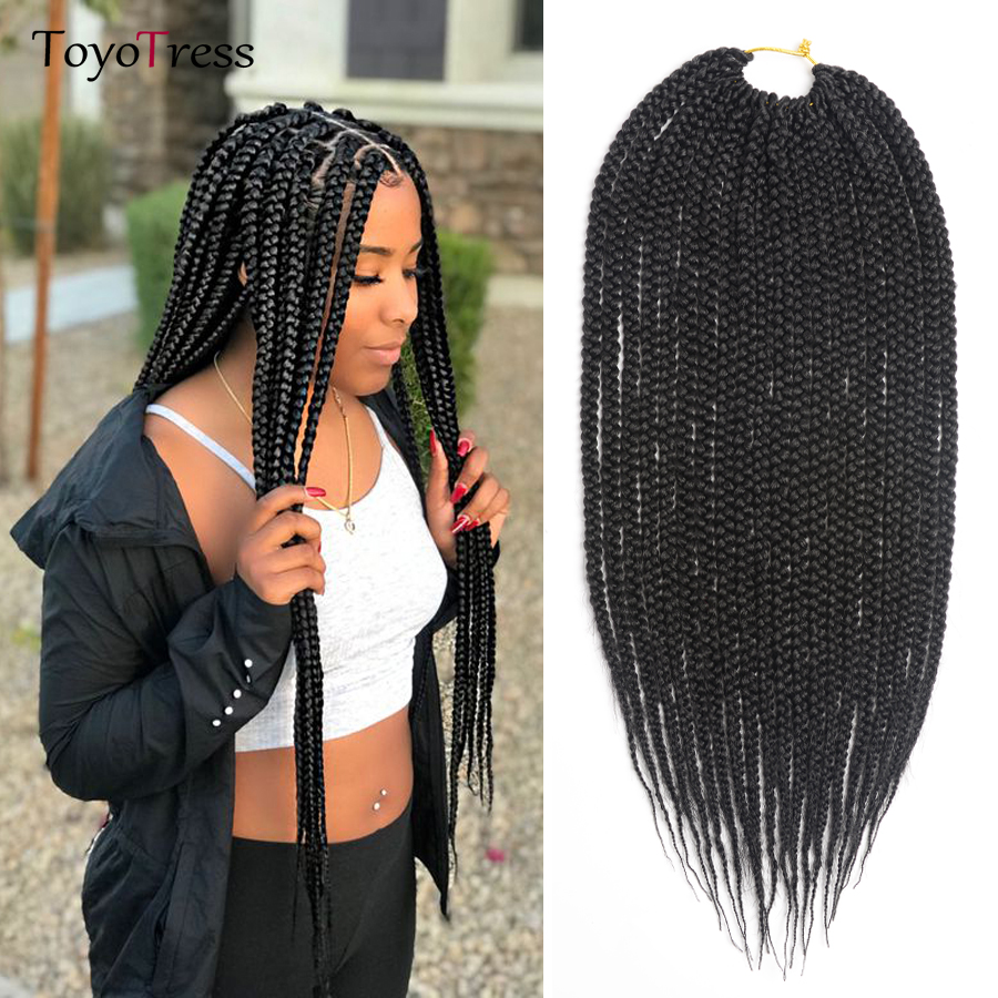 Buy Medium Box Braid Crochet Extensions