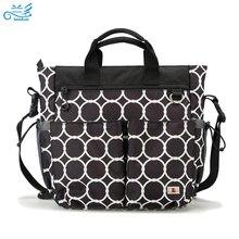 3 PCS/SET Baby Nappy Bags Diaper Bag Mother Shoulder Bag Maternity Mummy Handbag Waterproof Baby Stroller Bag Washed by Machine