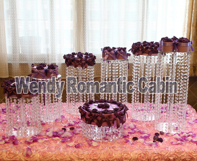 Aliexpress Buy Wedding Crystal Cake Stands Cupcake Stands
