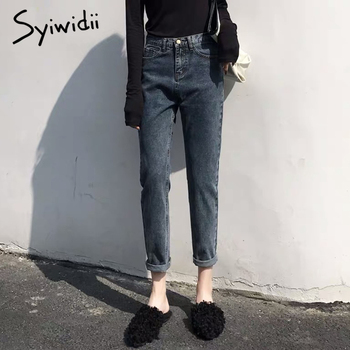 high waist jeans woman mom boyfriend jeans for women plus size denim Harem Pants streetwear womens clothing street style 2019