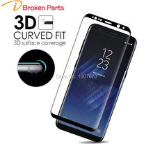 iBroken 3D Curved Surface Full Screen Cover Explosion-proof Screen Protector For Samsung Galaxy S8 Plus S7 Edge Tempered Glass