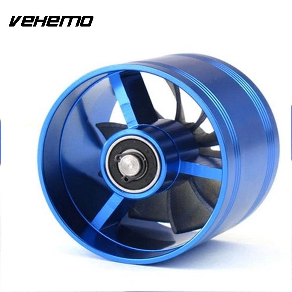 Vehemo Aluminium Alloy Turbonator Power Supercharger Turbo Gas Fuel Saver Tornado for Fan Kit Air Intake Car for Auto