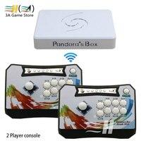 Pandora box 6 1300 in 1 wireless arcade game console set 2 Players controller console can add 3000 games 3d Tekken Mortal Kombat