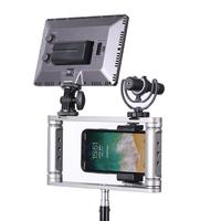 1Pcs Aluminium Alloy Handheld Camera Stabilizer Holder Grip Phone Bracket Mount For Mobile Phone Camera Holder and Tripod New