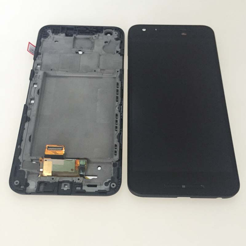 New Black LCD Touch Digitizer Glass Assembly+ Frame For LG Google Nexus 5X H791 H790 Replacement new lcd touch screen digitizer with frame assembly for lg google nexus 5 d820 d821 free shipping