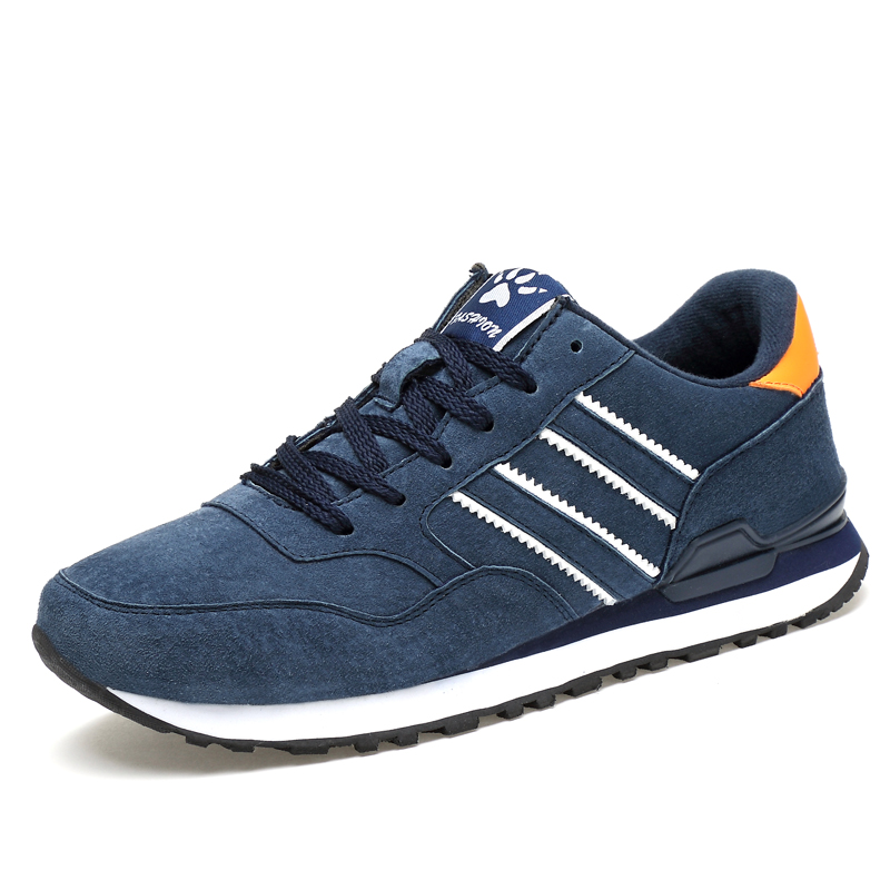 2017 New running sneakers for men winter pig suede Men sport Shoes high quality mens trainers jogging free run Jogging  shoes