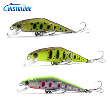 Fishing Lure  70mm 8g Sinking Minnow Hard bait Mini Treble hook Full Swimming Layer Artificial Bait