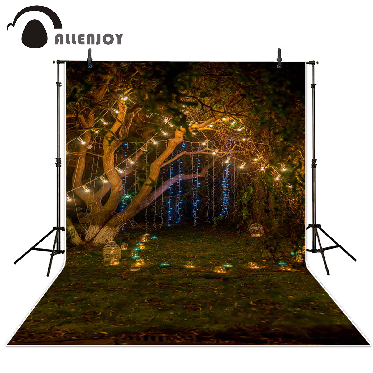 Allenjoy background for photo studio lantern meadow night party backdrop garden photography background fantasy backdrops allenjoy photo background photography backdrop book slate clouds newborn photographic picture for the studio 150cm