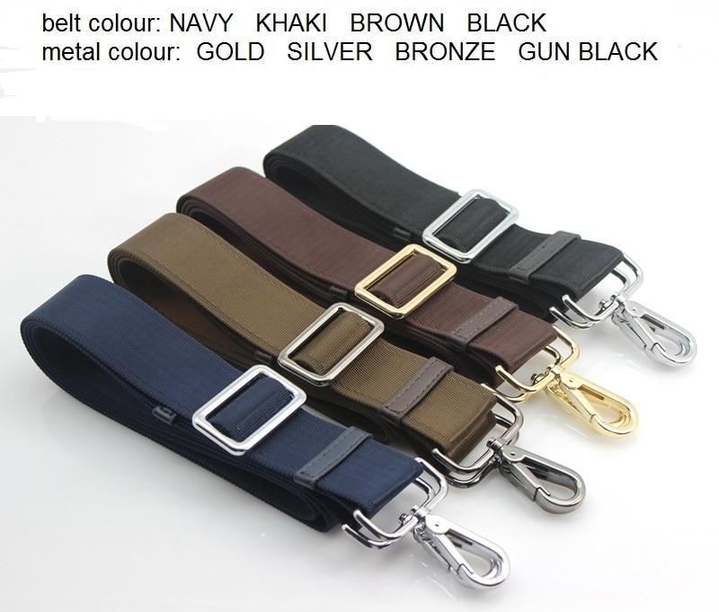 Width 3.8cm Free Shipping Suit Case Repair Parts Bags Belt Shoulder  Bag Nylon Belt Bag Shoulder Strap Bag Belt