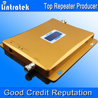 1 Set Dual Band Repeater GSM Repeater 900 1800 For Cell Phone Booster Amplifier Newest LCD