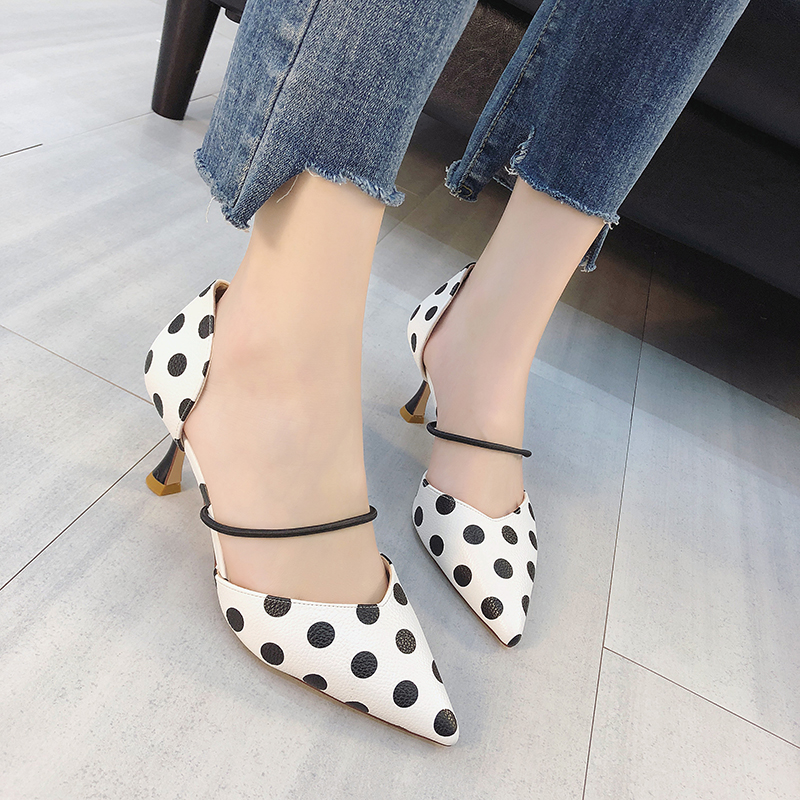 Lucyever 2019 Summer Women Shoes Ladies Pointed Toe Party Pumps Womens High Heels Two-Piece Sweet Sandals  Zapatos MujerLucyever 2019 Summer Women Shoes Ladies Pointed Toe Party Pumps Womens High Heels Two-Piece Sweet Sandals  Zapatos Mujer