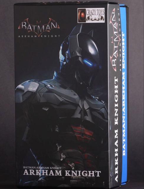 New arrival DC Justice League Batman Arkham Knight action figure Super Heroes Avengers PVC Kids Toys hulk Superman 7″ 18cm