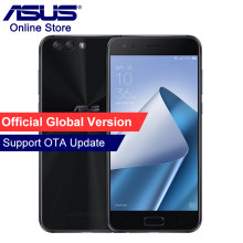 Original ASUS ZenFone 4 ZE554KL 4G Mobile Phone 4GB 64GB, Android 7.1.1 5.5'' Dual Rear Cameras, Octa Core, Beauty Smartphones(China)