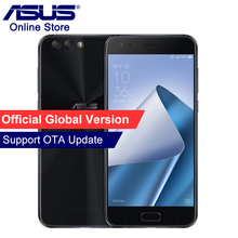 Orijinal ASUS ZenFone 4 ZE554KL, 4G Cep Telefonu 4 GB 64 GB, Android 7.1.1, 5.5 ''Çift Arka Kameralar, Octa Çekirdek, Güzellik A...