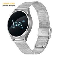 Männer Smart Watch Mode Sport Touchscreen Uhren Chronograph Digital-armbanduhren blutdruck Pulsmesser Kalorien