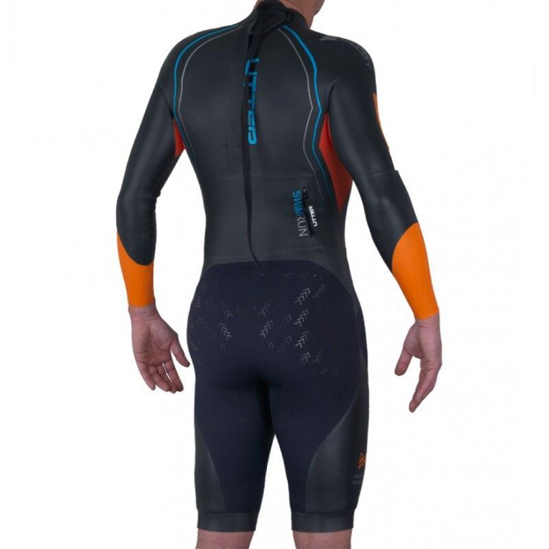 89991eb01b UTTER Men Swimrun Short Sleeve SCS Neoprene Triathlon Wetsuit for ...