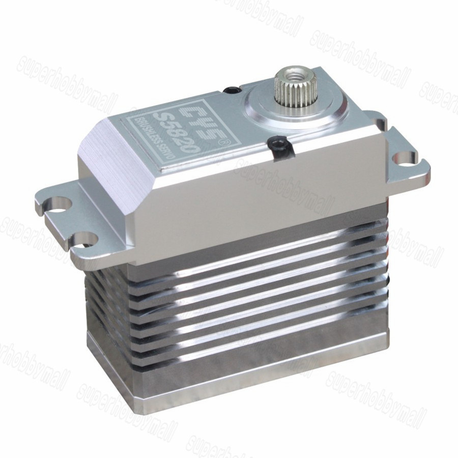 1PC CYS BLS5820 Brushless Motor Metal Gear Servo 83g 6.0-7.4V 20kg.cm For RC Models cys bls5115 64g 15kg cm alu metal brushless servo for rc heli fixed wing plane