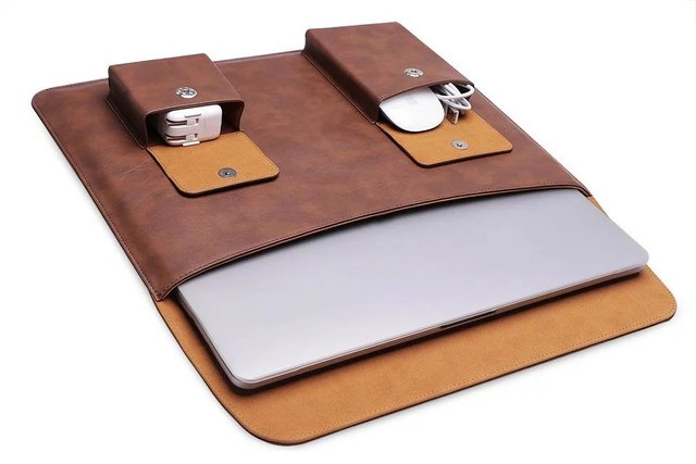 Business Deluxe Laptop Bag Notebook Case For 2017 New Macbook Pro 13 15 Inch