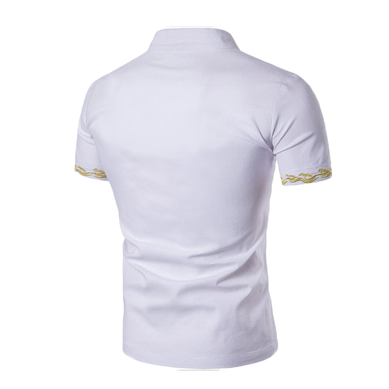 2017 New 1Pcs Men Casual Shirt Short Sleeve Shirts Cargo Shirt Men Work Shirt