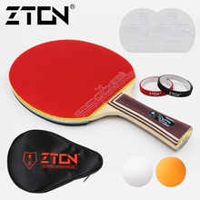 Table tennis racket Pimples-in rubber korber Ping Pong Racket bat for attack and loop drive at near table low price