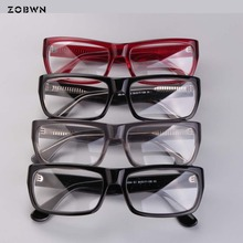 Mix wholesale Ready stock eyeglasses man retro glasses no degree for prescription myopia reading eyecare oculos masculino gafas