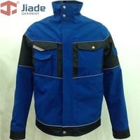 Jiade Adult High Visibility Jacket Jiade Men's Pocket Jacket Mens Work Wear Jacket Work Cap Jacket