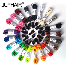 JUP 3 Pairs New Round Fashion Funny Gadgets Convenient Lock Colorful Elastic No Tie Silicone Shoelaces Lazy Shoes Laces Sneakers