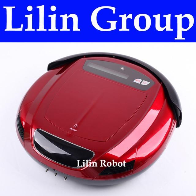 4 em 1 Multifuncional Robot Vacuum Cleaner (Vacuum, Varredura, Esterilizar, Sabor Air), LCD, controle remoto, Ajuste do Tempo, Auto Carregamento