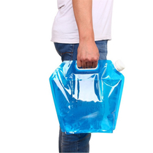 5L 10L Water Bag For Portable Folding Water Storage Lifting Bags For Camping Hiking Cycling Survival hydration bladder Travel