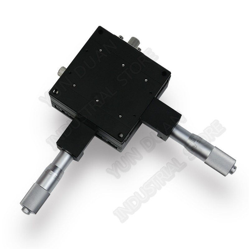 50*50mm XY Axis  Trimming Station Manual Displacement Platform Cross Roller Guide Way Linear Stage Sliding Table LY50-C50*50mm XY Axis  Trimming Station Manual Displacement Platform Cross Roller Guide Way Linear Stage Sliding Table LY50-C